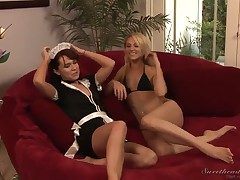 Hot lesbian fucking chapter be worthwhile for naughty Annabelle Lee and sweet Samantha Ryan!